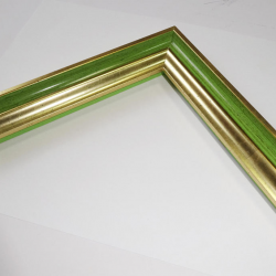 Багет P sait gold green