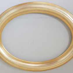 Рама декоративная Oval Gold