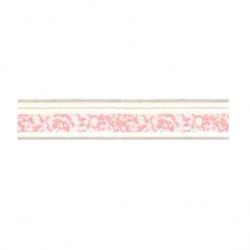 Лента розовая EL16