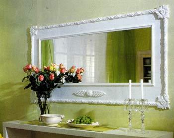 Изготовляем гипсовую оправу для зеркала своими руками