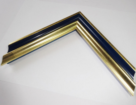 Багет P sait gold blue
