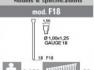 Пистолет для гвоздей  Ro-ma F18